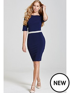 paper-dolls-34-sleeve-dress