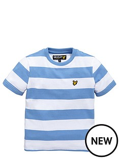lyle-scott-ss-bold-stripe-tee-harbour-blue