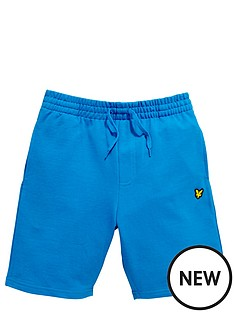 lyle-scott-jogger-short-deep-cobalt