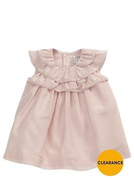 mamas-papas-baby-girls-frill-neck-dress