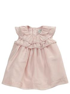 mamas-papas-frill-neck-dress
