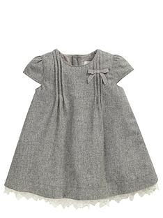 mamas-papas-grey-pleat-dress