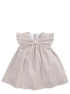 mamas-papas-striped-bow-dress