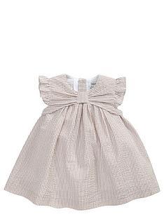 mamas-papas-striped-bow-dress