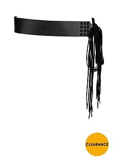 fringed-waist-belt
