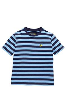 lyle-scott-boys-short-sleeve-stripe-tee-deep-indigo