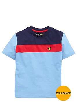 lyle-scott-boys-colour-block-t-shirt
