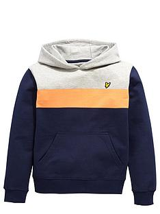 lyle-scott-colour-block-hoody