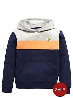 lyle-scott-colour-block-hoody