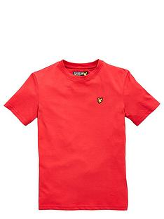lyle-scott-ss-classic-tee-royal-red