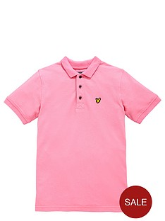 lyle-scott-ss-classic-polo-summer-pink