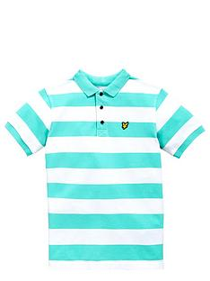 lyle-scott-ss-stripe-polo-spring-green