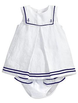 mamas-papas-baby-girls-linen-sailor-dress-and-briefs-set