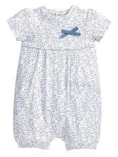 mamas-papas-floral-print-jersey-romper