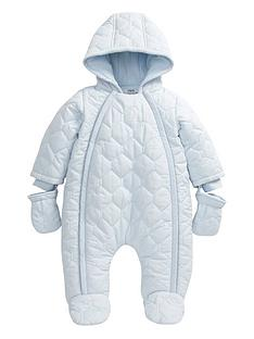 mamas-papas-quilted-pramsuit