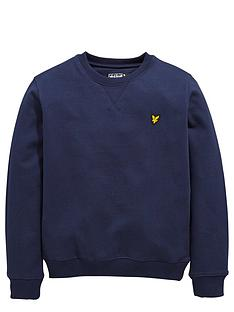 lyle-scott-boys-crew-neck-sweater