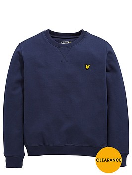lyle-scott-boys-crew-neck-sweater