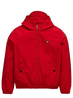 lyle-scott-hooded-windbreaker-royal-red