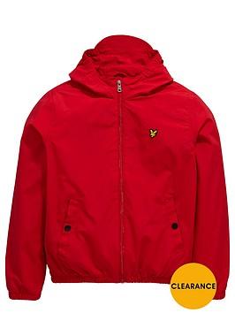 lyle-scott-hooded-windbreaker-royal-red