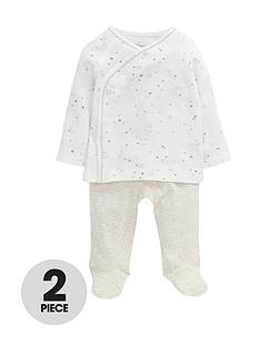 mamas-papas-unisex-baby-jersey-wrap-top-and-leggings-set-2-piece