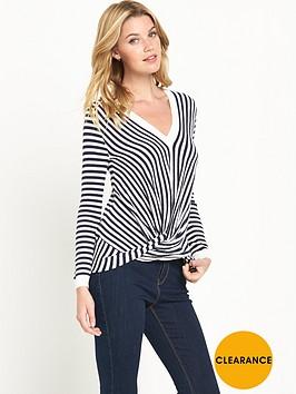 v-by-very-stripe-twist-front-jumpernbsp