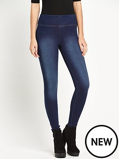 river-island-high-waisted-denim-jeggings
