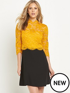 v-by-very-lace-high-neck-lace-top-dress