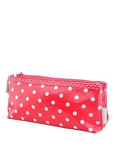 victoria-green-foldover-cosmetic-purse-spot-print