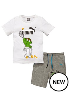 puma-puma-sesame-street-oscar-shorts-set