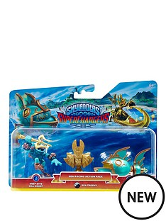 skylanders-skylanders-superchargers-racing-pack-sea-villain-deep-dive-gill-grunt-reef-ripper-and-villain