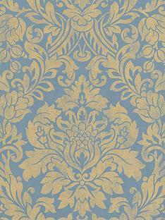 graham-brown-gloriananbspwallpaper-blue