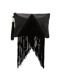 fringed-wristlet-clutch
