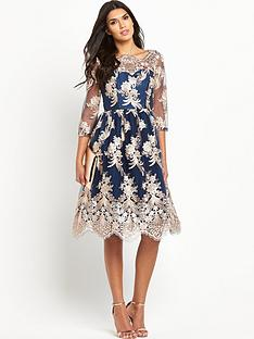 chi-chi-london-chi-chi-london-bardot-lace-midi-prom-dress