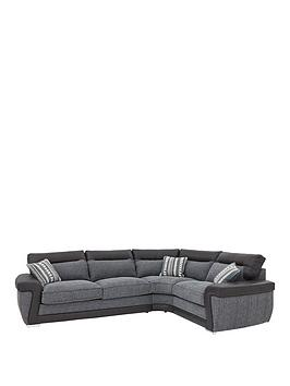 Zak RightHand Corner Group Sofa Bed