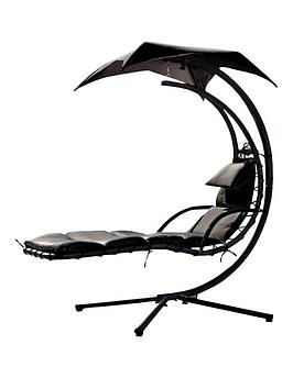 hanging-lounge-swing-with-next-day-delivery-black