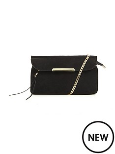 2-ways-to-wear-suedette-tassle-detail-bag-black