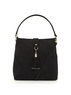 suedette-tassle-detail-bucket-bag