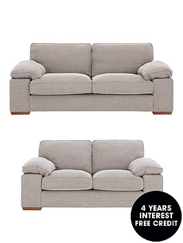 aylesburynbsp3-seaternbsp-2-seaternbspfabric-sofa-set-buy-and-save