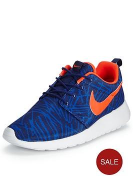 nike-roshe-one-fashion-shoe-blue-print