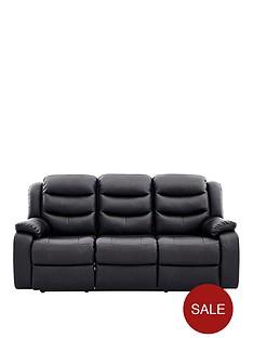 rothburynbspluxury-faux-leather-3-seaternbspmanual-recliner-sofa