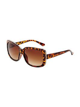 oversized-metal-trim-frame-sunglasses-tortoiseshell
