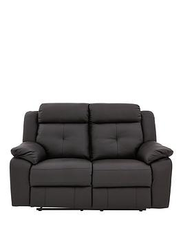 denzelnbspluxury-faux-leather-2-seaternbsprecliner-sofa