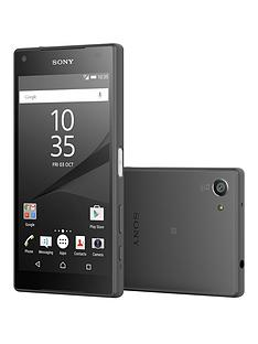 sony-xperia-z5-compact-32gbnbspwith-sony-sbh60-headphonesnbsp--graphite-black