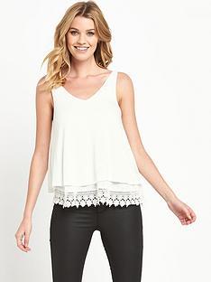 v-by-very-double-layer-lace-hem-vest