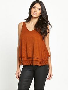 v-by-very-double-layer-lace-hem-vest