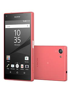 sony-xperia-z5-compact-32gb-with-sony-sbh60-headphones-coral