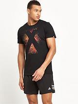 Adidas Mens X Logo Tee