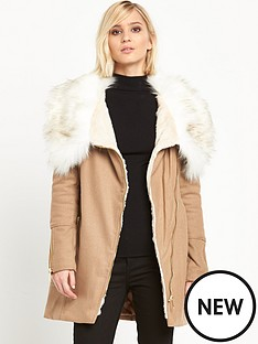 river-island-faux-fur-collar-wool-parka