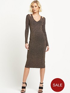 river-island-metallic-knitted-dress