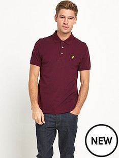 lyle-scott-pique-mens-polo-shirt